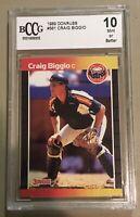 Craig Biggio Rookie Grade 10 Mint 1989 Donruss #561 Non PSA BCCG