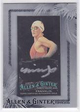 2016 Topps Allen & Ginter X Framed Mini Autographs Missy Franklin AUTO