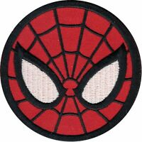 Marvel Spiderman With Great Power Comes Great Responsibility Iron On Patch 142-L