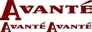 ELDDIS AVANTE CARAVAN  DECALS STICKERS CHOICE OF COLOURS OTHER SIZES #013