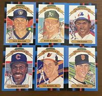 1988 Donruss Diamond Kings 27 card set NM/MT McGwire Ripken Molitor Dawson Clark