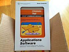 CHISHOLM TRAIL for the Texas Instruments TI 99/4a Computer - NEW FRESH CASE -NIB
