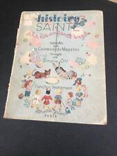VTG 1947 Histoire Sainte Noir les enfants sages by La Comtesse de Magallon