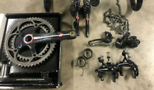 Campagnolo Super Record 11 Speed  Carbon Group Set W New Crankset