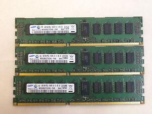 12GB 3x4GB MEMORY PC3L-10600R M393B5273CH0-YH9 COMP TO SNP9J5WFC/4G R310