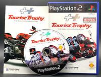 "PS 2 Playstation 2 Spiel "" TOURIST TROPHY Motorrad Rennspiel "" KOMPLETT"
