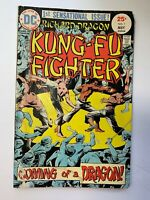 Richard Dragon Kung Fu Fighter #1 DC 1975 May comic book first issue