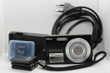 "NIKON COOLPIX S200, 7.1 Megapixels VR&ISO 1000, 2.5"" LCD, 2GB SD-Card, Batteries"