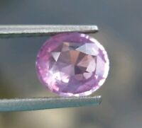 1.20Cts~ TOP LUSTRE NATURAL PINK SAPPHIRE OVAL CUT VVS CLARITY. LOOSE GEMSTONE ~