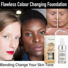 TLM Color Changing Foundation Change To Your Skin Tone By Just Blending