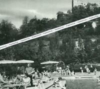 Badenweiler - Bad unter der Burgruine -  um 1960  S 8-11
