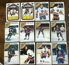 1978-79 O-Pee-Chee  NEW YORK ISLANDERS  19 card team lot