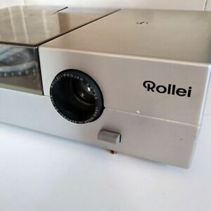 Vintage Rollei P37E 35mm Slide Projector As Is Powers On Parts/Repairs