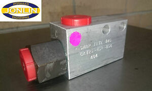 "SNAP TITE INC CAV25-N6P-15A Single Pilot Operated Check Valve - CAV 3/4"" BSP"