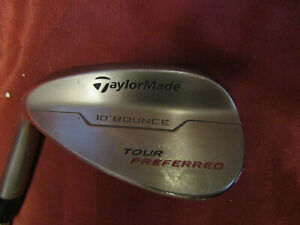 TaylorMade Tour Preferred Wedge 60* KBS Tour-V 125 Steel Shaft 10 bounce LH
