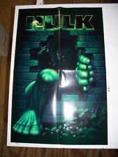 Incredible Hulk 2003 Promotional Poster 13 x 20