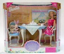 Barbie Tea Time With Her Friends Playset 1999 NRFB Walmart Excl Doll