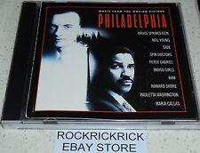 PHILADELPHIA SOUNDTRACK -10 TRACKS- B.SPRINGSTEEN,P.GABRIEL,N.YOUNG,SADE & MORE