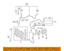 TOYOTA OEM A/C AC Condenser/Compressor/Line-Service Valve 8837430010