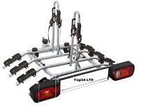 Bike Carrier / Cycle Rack- Titan 4 Plus 7PIN - Towbar Mounted Tilting option