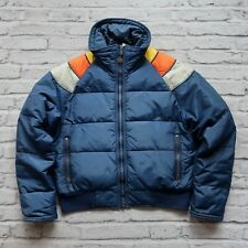 Vintage 70s Alpine Designs Quilted Down Jacket Size L Made in USA