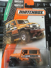 Matchbox 1968 Toyota Land Cruiser FJ40 orange