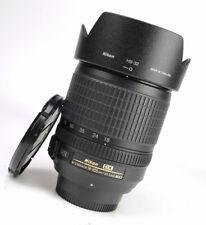 Nikon 18-105mm AF-S DX Nikkor F3.5-5.6 G ED VR Zoom Lens + F/R Lens Caps + Hood