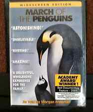 March of the Penguins DVD 2005 Widescreen - Brand New and Factory Sealed