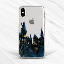 Hogwarts Castle Harry Potter Art Case For iPhone 6S 7 8 Xs XR 11 Pro Plus Max SE