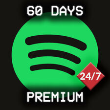 Spotify Premium (60 days 2 months) not shared, (write for BULK/WHOLESALE offers)