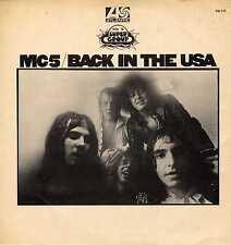 "MC5 ""BACK IN THE USA"" ORIG FR 1970 RARE"