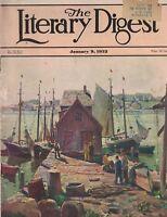 Literary Digest Magazine January 9 1932 Adolf Hitler 1932 Cars William Cocke