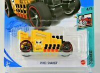 2021 - Hot Wheels NIP - Pixel Shaker (Yellow) - HW Tooned 4/5 - Buy 2 Get 2!