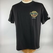 Hard Rock Live Orlando Opening Year 1999 Shirt Sz Large Black Short Sleeve Tee