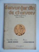 Carlo Nabe Un Jardín Chansons Dubois Partitura 6 Redondo Infantiles Foetisch