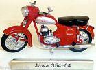 Jawa 354 04 Moto rosso DDR 1:24 ATLAS 7168104 nuovo conf. orig. LA5 µ