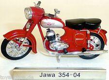 Jawa 354 04 Moto Rojo Rda 1:24 Atlas 7168104 Nuevo Emb. Orig. LA5 Μ