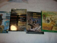 Lot Of 4 Hunting Books Deer Geese Duck