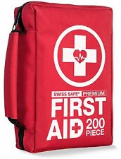 Premium First Aid Kit (200-Piece) : FDA Medical Supplies for Home, Office...