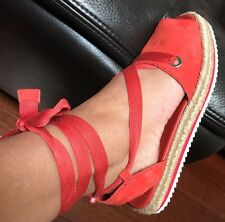 Mimco 💞 40 Or 9 New Wanderer Poppy Espadrille Slippers  Shoes Sandals Flats