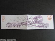 FL5b, £1.30,Trams series Booklet, Design No3- Blackpool, MNH