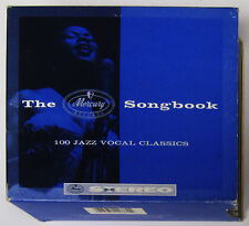 The Mercury Songbook 4 CD Canadian compilation Sarah Vaughan Patti Page etc VG+
