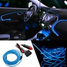 3M 12V BLUE Neon LED Light Glow EL Wire String Strip Rope Tube Car Interior Dec