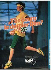 Publicité Advertising 1981 Les Bas et collants Dim