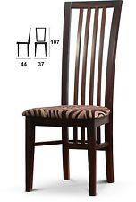 Klassische Esszimmerstühle aus Massivholz