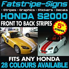 HONDA S2000 STRIPES GRAPHICS DECALS STICKERS TYPE R S VTEC 2.0 GT AP1 AP2 MUGEN