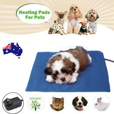 Electric Waterproof Pet Heat Heated Heating Pad Mat Blanket Bed Dog Cat AU Plug