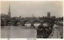 Worcester Bridge Boat Perseverance unused RP old pc