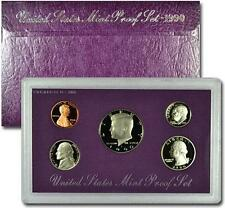 1990 United States US Mint 5pc Clad Proof Set SKU1436