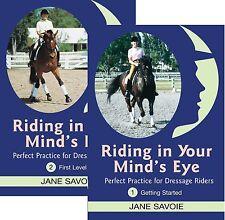 Riding in Your Mind's Eye Part 1 & 2 by Jane Savoie - Dressage Training DVD